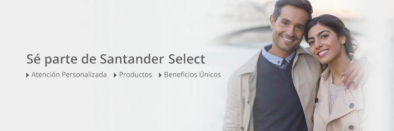 Sea parte de Santander Select