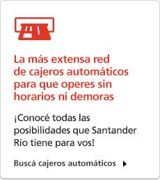 Cajeros autom ticos santander r o tu red de cobertura for Cajeros automaticos banco santander