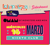 Of Monsters and Men - 16 de marzo Niceto Club