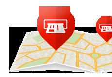 Cajeros autom ticos santander r o tu red de cobertura for Buscador de cajeros