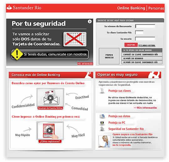 Online banking santander r o la comodidad de operar en for Banco santander mas cercano a mi ubicacion